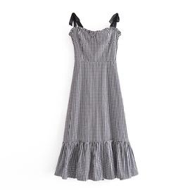 Spring Retro Slim Sling Dress NSAM47426