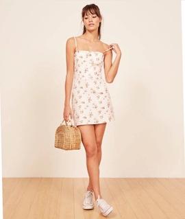 Spring Retro Printed Sling Skirt NSAM47435