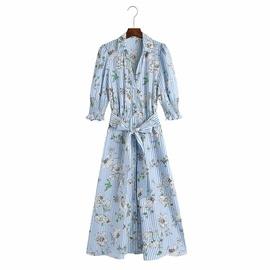 Spring Printed New Dress  NSAM47439