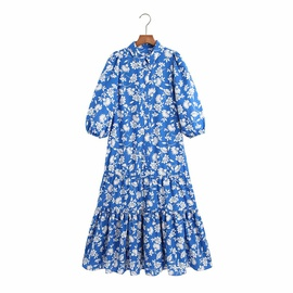Spring Decorative Printed Dress NSAM47440