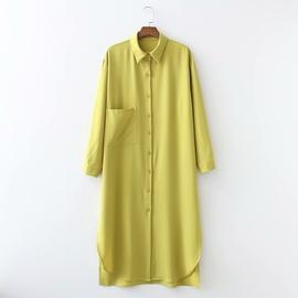 Spring Lineln Oose Long Dress NSAM47460