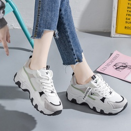 Lace-up Breathable Thick Sneakers NSNL50930