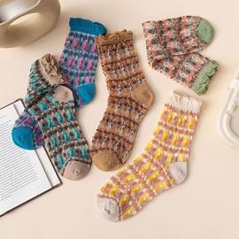 Retro Embroidered Stockings NSFN51084