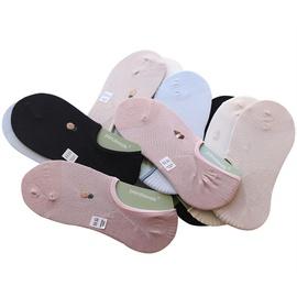 Cotton Mesh Breathable Boat Socks NSFN51086