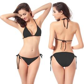 Candy Color Classic Bikini Swimsuit Set NSLUT53597