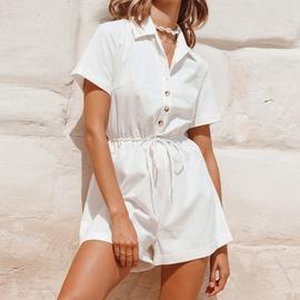 New Summer Short-sleeved Loose Jumpsuit  NSJR51550
