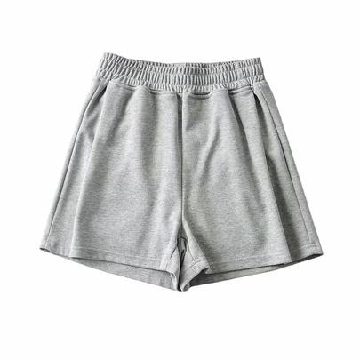 Fashion Loose Elastic High Waist Thin Sports Casual Shorts  NSAC52926