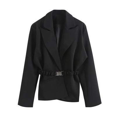 Spring New Fashionsingle-breasted Waist Suit Jacket NSAC52953