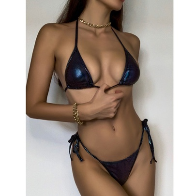 New Sexy Halter Strap Split Hot Sale Wholesale Bikini  NSDYS53977