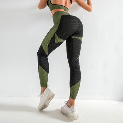 High Waist Elastic Quick-drying Sweat-absorbent Breathable Sports Trousers NSZJZ54059