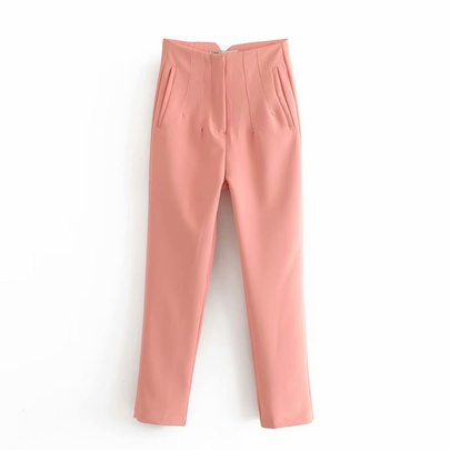 Spring High Waist New Comfortable Fashion Casual Pants NSAM54125