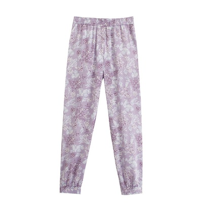 Wholesale Summer New Style Fashion Stretch Waist Printed Pants NSAM54128