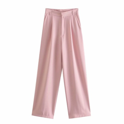 New Wholesale Comfortable Fashion Spring Pink Casual Pants NSAM54133