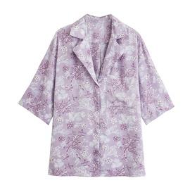 Wholesale Summer New Style Fashion All-match Printing Drape Shirt NSAM54135