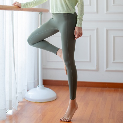 High Waist Fitness Nylon Tights  Sports Legging NSZHE54169
