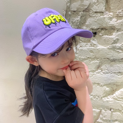 Summer Breathable And Perforated Children's Baseball Cap NSCM54378