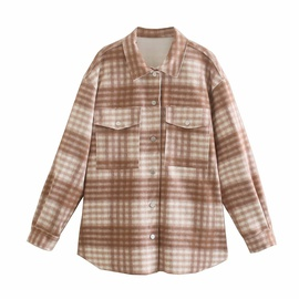 New Plaid Jacket NSAM47604