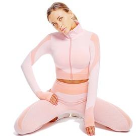 Seamless Super Elastic Thumb Hole Sports Jacket & Leggings NSOUX47915