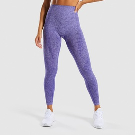 Topstitching Wide Band Waist Sports Leggings NSOUX47917