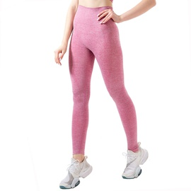 Space Dye Hollow Wide Waistband Leggings NSOUX47922