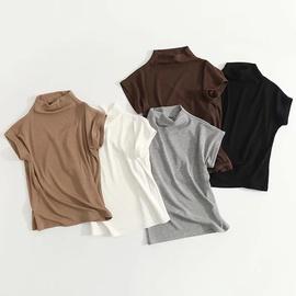 Summer Short-sleeved Solid Color Shirt NSHS47972
