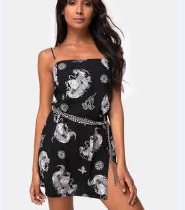 Summer New Style Fashion Print Sexy Dress NSYF47980