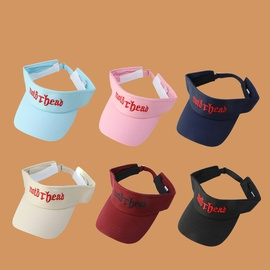 sun visor breathable outdoor sports hat   NSTQ48001