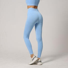 Cut Out Wide Band Waist Sport Leggings NSOUX48124