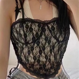 Fashion Summer Lace Sling Top NSAC48274