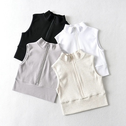 Summer New Solid Color Vest NSHS48526