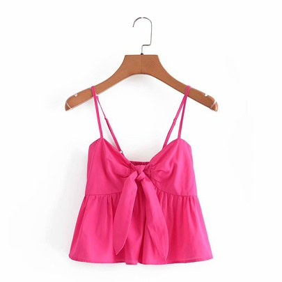 New Bow-knot Slim Slimming Short Camisole NSAM55751