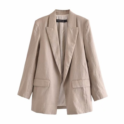 Wholesale Spring Festival Linen Suit Jacket NSAM54635